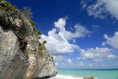 Rocha da praia Imagem de Stock