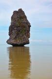 A rocha da vela Fotos de Stock Royalty Free