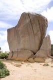 Rocha de assobio, parque do Le Grand National do cabo imagem de stock