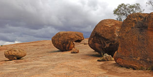 Rocha de Austrália Hyden Foto de Stock Royalty Free