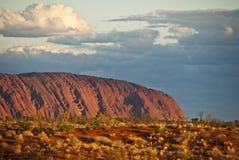 Rocha de Ayers, Território do Norte Imagem de Stock Royalty Free