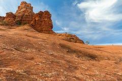 Rocha de Bell ao lado de Sedona, o Arizona Fotografia de Stock