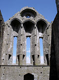Rocha de Cashel, Ireland Fotografia de Stock