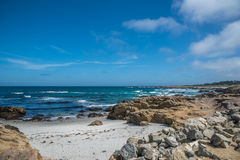 Rocha de China, movimentação de 17 milhas, Califórnia, EUA Foto de Stock