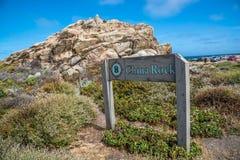 Rocha de China, movimentação de 17 milhas, Califórnia, EUA Imagem de Stock Royalty Free