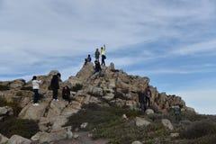 Rocha de China, movimentação de 17 milhas, Califórnia, EUA Fotografia de Stock Royalty Free