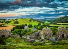 A rocha de Dunamase Fotos de Stock Royalty Free