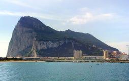 Rocha de Gibraltar imagens de stock