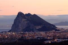 A rocha de Gibraltar foto de stock royalty free