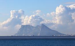 A rocha de Gibraltar imagem de stock royalty free