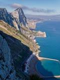 Rocha de Gibraltar Fotografia de Stock Royalty Free