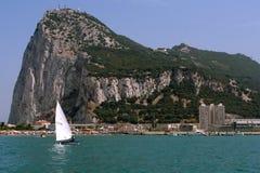 A rocha de Gibraltar Fotografia de Stock Royalty Free