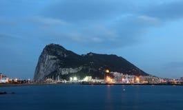 A rocha de Gibraltar imagens de stock