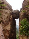 A rocha de Huangshan em China Fotografia de Stock Royalty Free