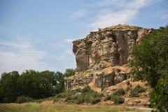 A rocha de Lewis e de Clark chamou a coluna de Pompeys imagens de stock royalty free