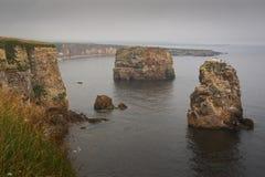 Rocha de Marsden, Tyne e desgaste, Reino Unido Fotos de Stock Royalty Free