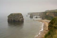 Rocha de Marsden, Tyne e desgaste, Reino Unido Fotografia de Stock