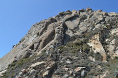 Rocha de Morro na baía Califórnia de Morro Foto de Stock