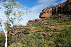 Rocha de Nourlangie, Kakadu Imagens de Stock