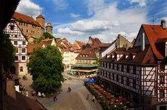 Rocha de Nuremberg Fotografia de Stock Royalty Free