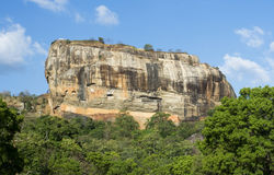 Rocha de Sigiriya, Sri Lanka Fotografia de Stock Royalty Free