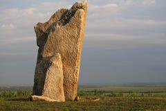 Rocha de Teter, o Condado de Greenwood Kansas Fotos de Stock