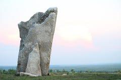 Rocha de Teter, o Condado de Greenwood Kansas Foto de Stock Royalty Free