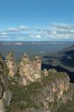 Rocha de três irmãs, Austrália Fotos de Stock Royalty Free