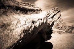Rocha de Vasquez em Califórnia Fotos de Stock Royalty Free