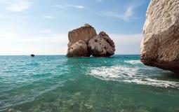 A rocha do Afrodite imagens de stock royalty free