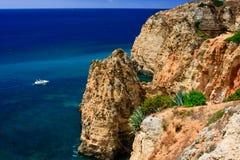 Rocha do Algarve Imagens de Stock Royalty Free