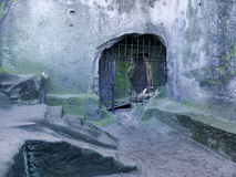 Rocha do castelo Fotografia de Stock Royalty Free