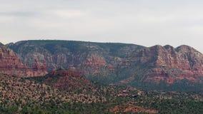 Rocha do castelo em Sedona, o Arizona, EUA filme