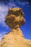 Rocha do chapéu mexicano na garganta de Chaco, nanômetro fotografia de stock royalty free