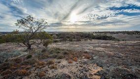 Rocha do desfiladeiro, Corrigin, Austrália Ocidental Fotos de Stock Royalty Free