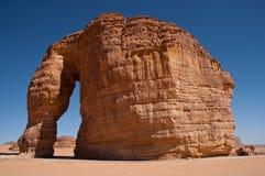 Rocha do elefante em Arábia Saudita Imagens de Stock Royalty Free