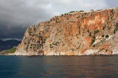 Rocha do mar fotografia de stock