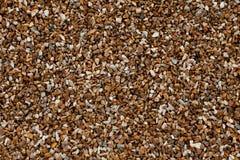Rocha do pêssego de Brown fotografia de stock