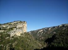 A rocha dos abutres imagens de stock