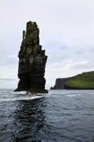 Rocha dos penhascos de Moher, Irlanda Imagem de Stock Royalty Free