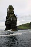 Rocha dos penhascos de Moher, Irlanda Fotografia de Stock Royalty Free