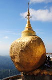 A rocha dourada, Myanmar Foto de Stock