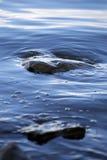 Rocha e água Fotos de Stock Royalty Free