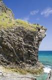 Rocha e mar imagens de stock