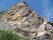 A rocha elevada Imagem de Stock Royalty Free