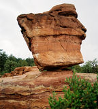 Rocha equilibrada Colorado Fotografia de Stock Royalty Free