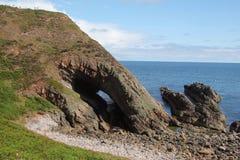 Rocha Escócia da boca das baleias Imagens de Stock