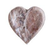 Rocha Heart-Shaped imagem de stock