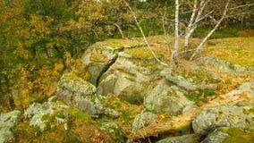 Rocha Ledge With Scenic Drop Off imagem de stock