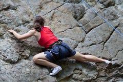 Rocha-montanhista Fotografia de Stock
